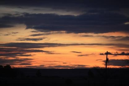 Winter Dawn, New Mexico